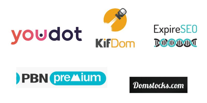 5 plateformes d'achat de noms de domaines expirés