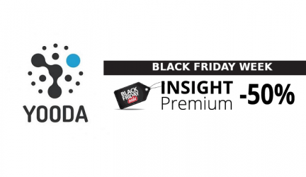 Black Friday Yooda Insight: jusqu'à -50 % de remise sur Insight Premium